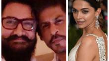 Padmavati: Shah Rukh Khan and Aamir Khan express concern over threats received by Deepika Padukone