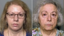 Sister dinner ladies charged with stealing £375,000 from schools over five years