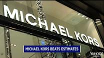 Michael Kors sales sizzle; Amgen blood cancer drug trial a success; Mobileye races ahead again
