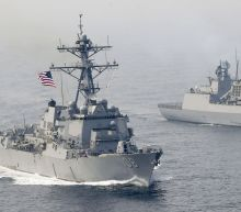 UPDATE 3-U.S. warships sail in disputed South China Sea, angering China