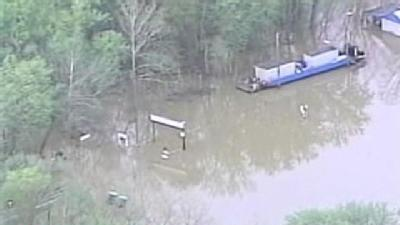Boy Scouts Rescued From High Water