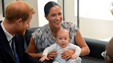Baby Archie makes royal tour debut –and fans think he looks just like Harry