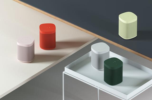 Those colorful Sonos One speakers go on sale November 5th