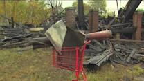 House collapses on man scrapping for metal