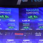 S&P ekes out gains to end at record high