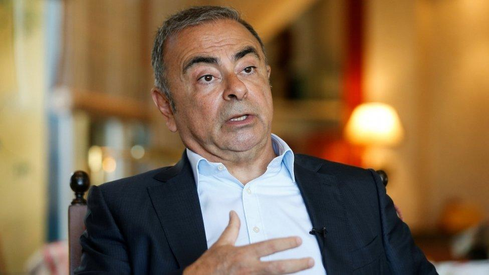 Carlos Ghosn: Father and son sentenced for helping ex-Nissan boss escape
