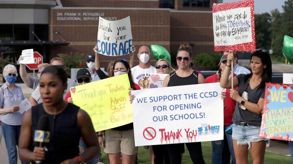 Coronavirus updates: Over 1,000 students under quarantine in Georgia school district (ABC News)
