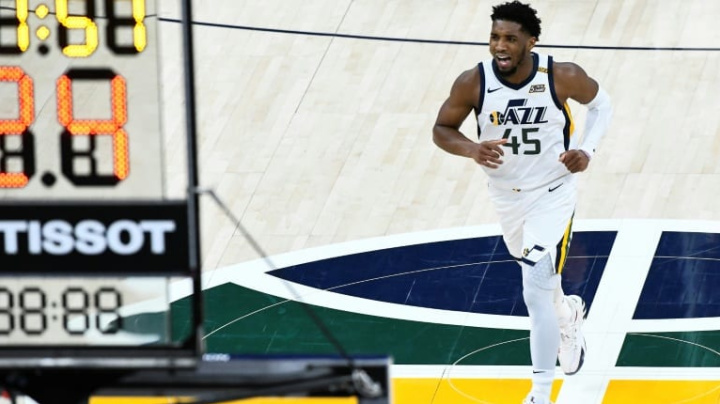 Jazz comeback overshadowed by Mitchell injury scare