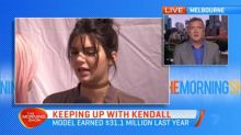Kendall Jenner earned $31 million in 2018