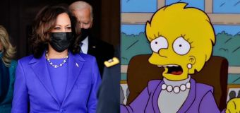 'The Simpsons' predicted VP's inauguration outfit