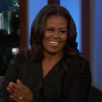 Michelle Obama reads un-first-ladylike statements on 'Jimmy Kimmel Live'