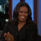 Michelle Obama reads un-first-lady-like statements on 'Jimmy Kimmel Live'