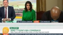 Mike Tyson sparks concern with 'uncomfortable' Good Morning Britain interview