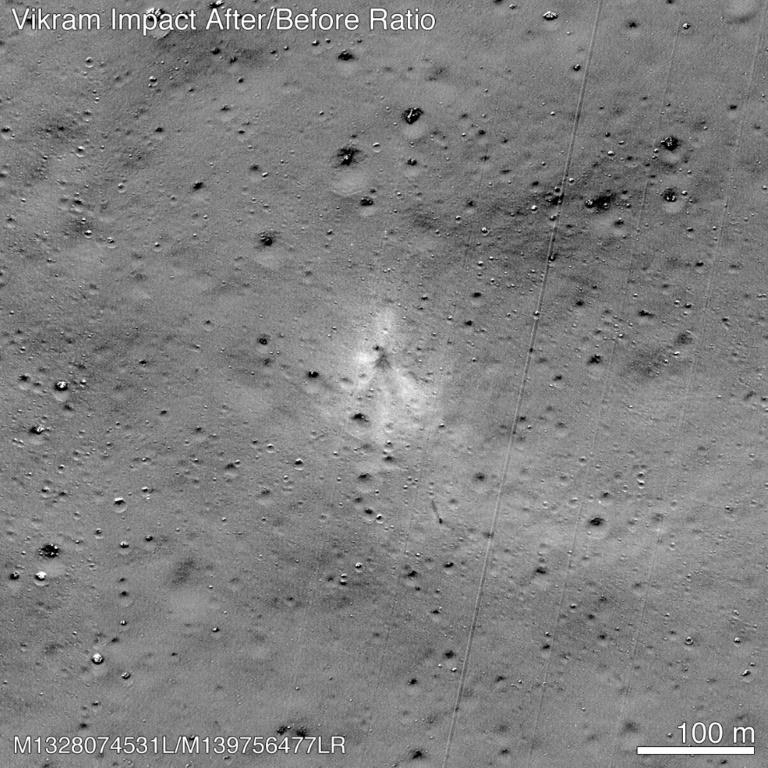NASA finds Indian Moon lander with help of amateur space enthusiast
