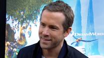 Ryan Reynolds' 'The Croods' Premiere