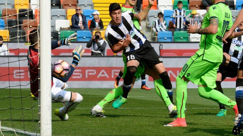 Udinese-Cagliari 2-1: Ci pensa super Perica, sardi al tappeto