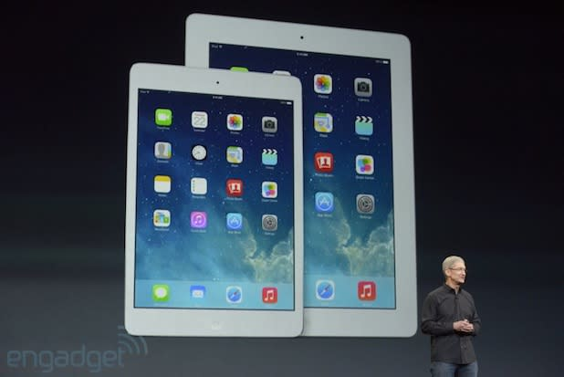 You can now stream Apple's iPad Air event online