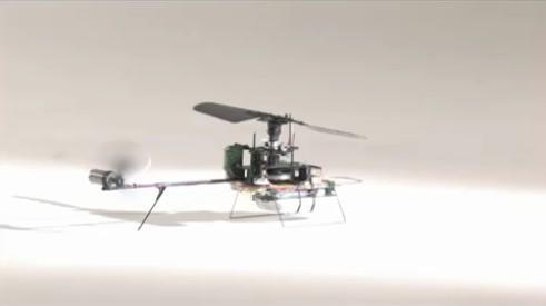 Prox Dynamics' Black Hornet nano-copter gets demoed on video