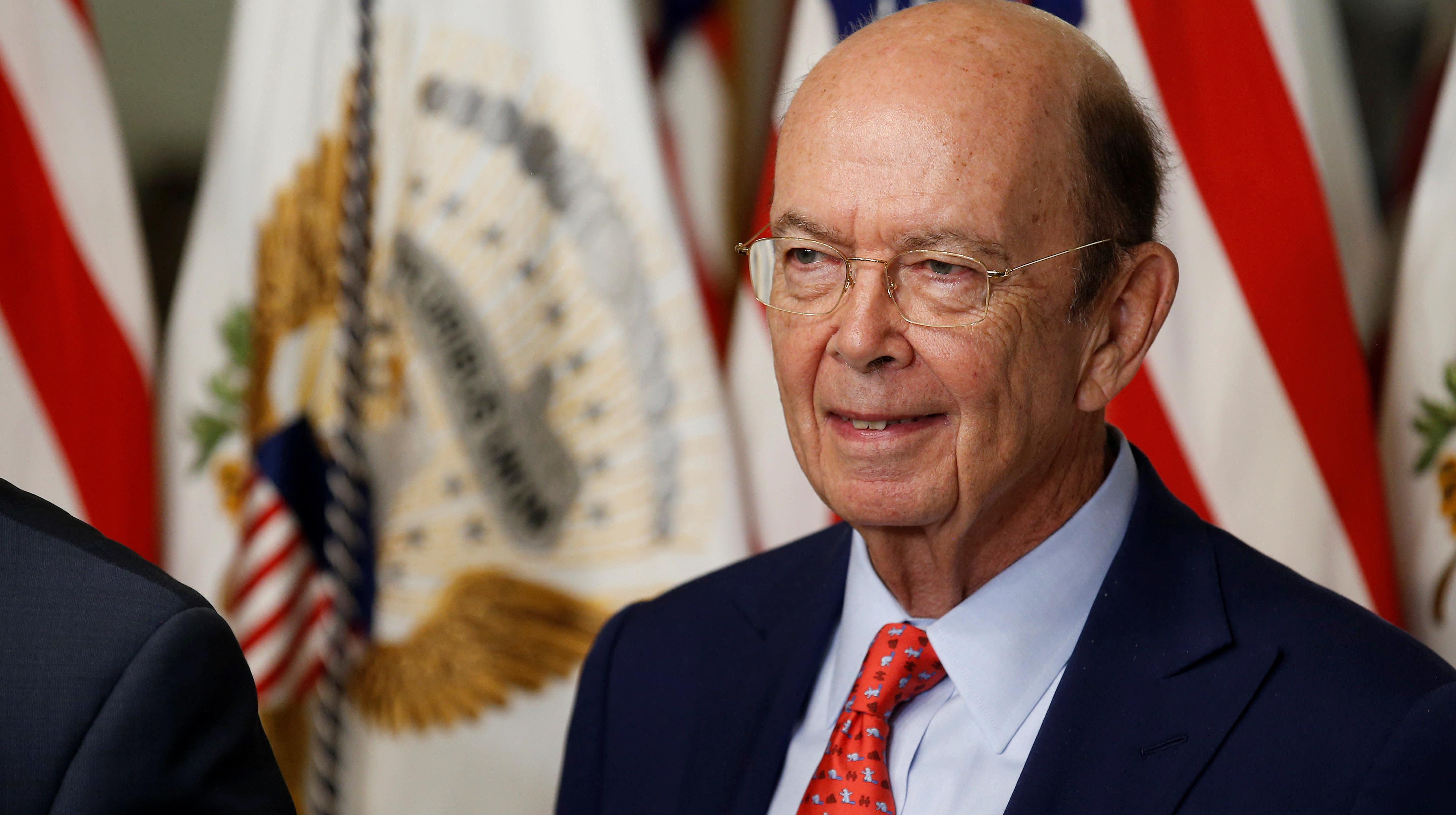 Commerce Secretary Wilbur Ross Failed To Disclose Ties To Vladimir Putin