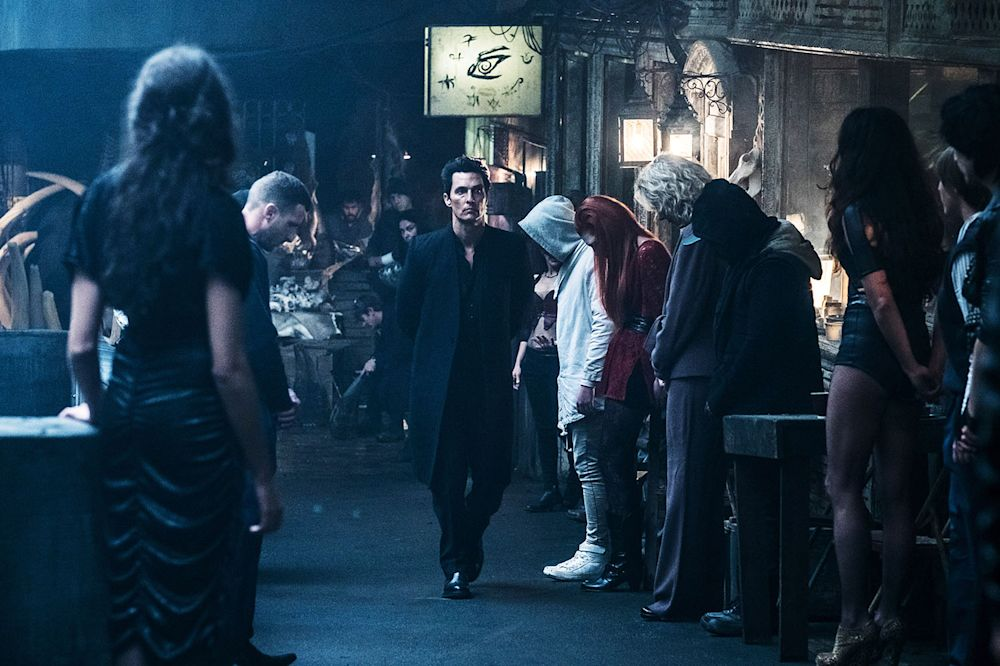 Matthew McConaughey as the Man in Black in <em>The Dark Tower.</em>