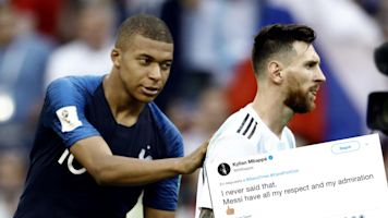 La lección de humildad de Mbappé cuando dicen que será mejor que Messi