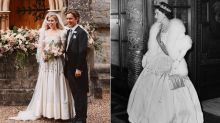 Love Princess Beatrice's royal wedding dress with puff-sleeves? We've found some stunning dupes