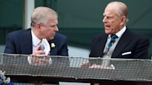 Why did Prince Andrew think he should go to the funeral as an Admiral?