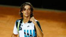 Italian teenager Musetti continues dream run in Rome