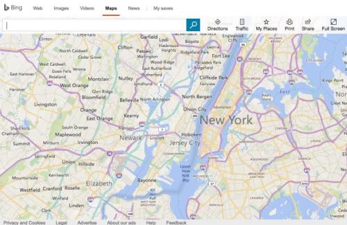 Bing Maps.