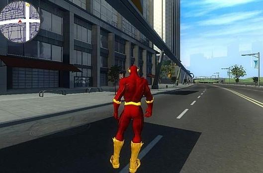 See 'The Flash' superhero game in action -- before it disappeared