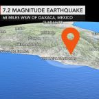 Mexico: 13 dead after helicopter surveying damage of magnitude 7.2 earthquake crashes