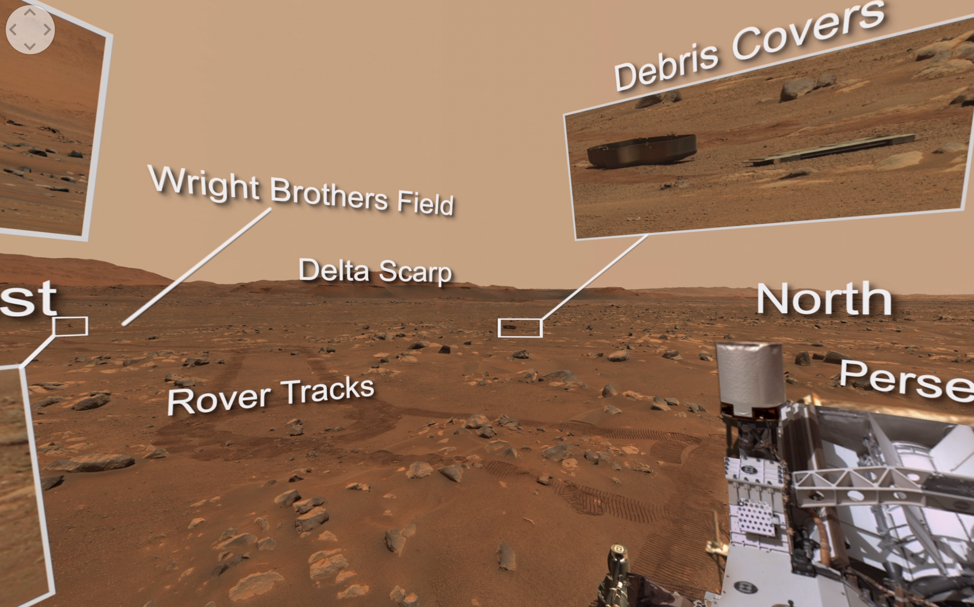Explore Perseverance's Mars Highlights in 360-Degree Video