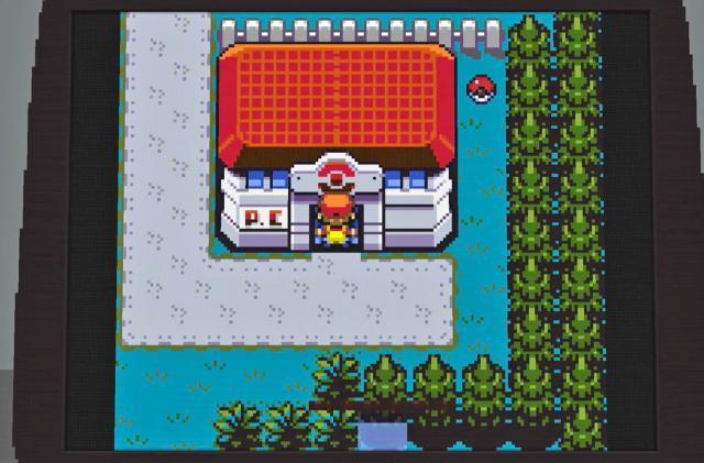'Minecraft' creation plays 'Pokémon' on a virtual Game Boy