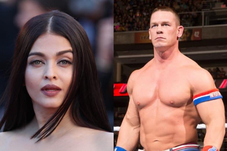 John Cena Posts Photo of Aishwarya Rai Bachchan on Instagram after Bollywood Star Tests Positive for Coronavirus