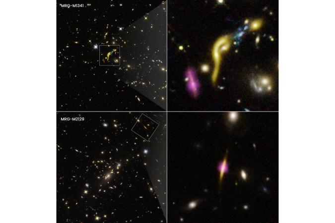 Hubble, ALMA detect 'dead' early galaxies