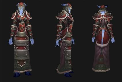 Outland reputation set- Shaman (Elemental): Seer's Mail Battlegear