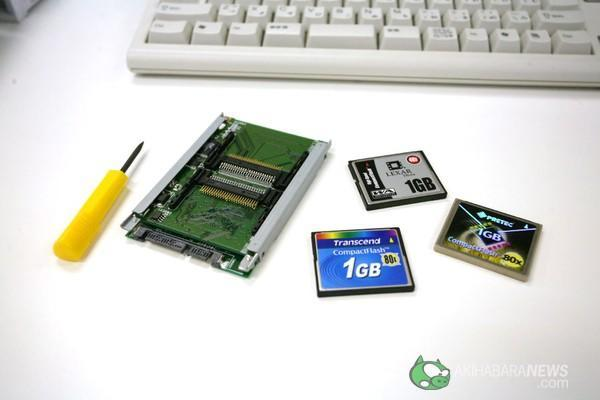 Video: Century's Compact Flash SSD SATA adapter reviewed