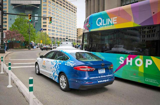 Ford will test new self-driving cars in Detroit
