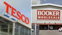 Tesco's £3.7bn deal to buy Booker is provisionally cleared by CMA