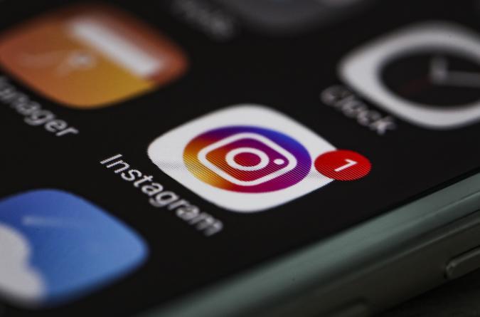 ANKARA, TURKEY - FEBRUARY 15: A mobile phone screen displays the logo of Instagram in Ankara, Turkey on February 15, 2020. Esra Hacioglu / Anadolu Agency