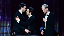Double success for The 1975 as band claim album of the year at the Brits