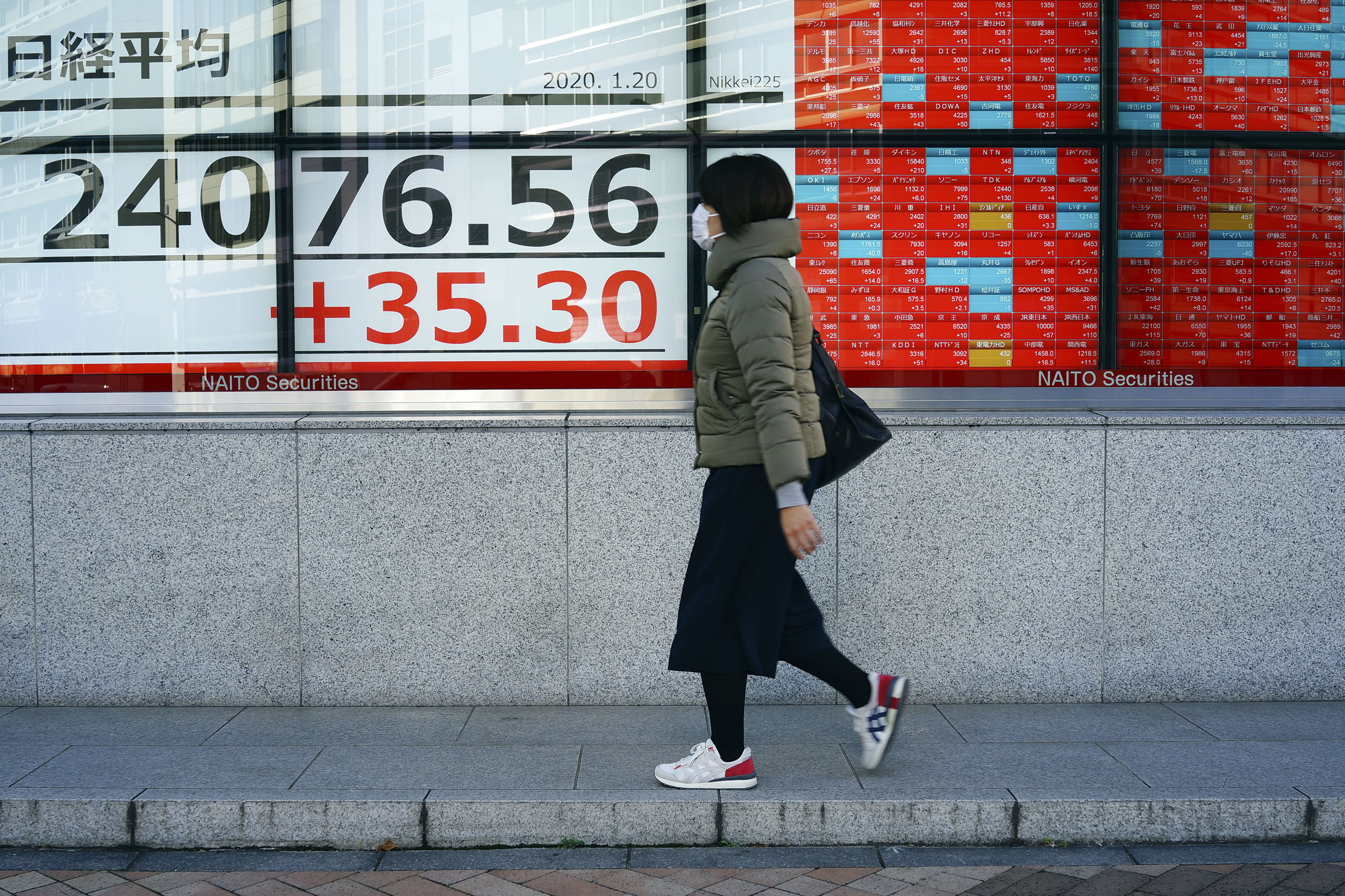 Asian shares mostly higher before central banks decisions