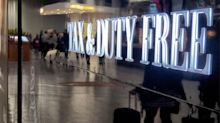 Tax-free airport sales to end in January