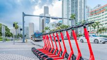 Miami E-Scooters Leave Streets Amid Fears Of 'Scooternado' As Dorian Nears