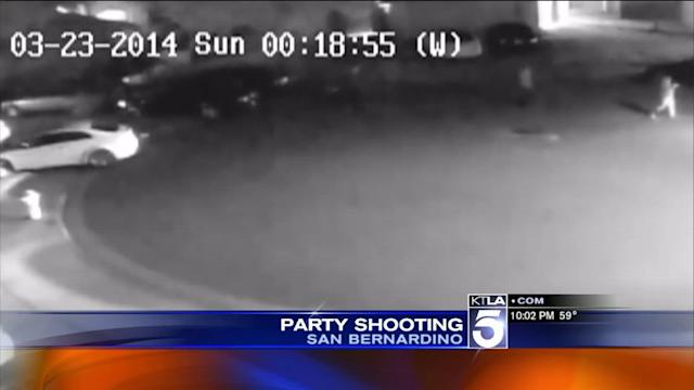 Surveillance Video Shows Shooting Near Cal State San Bernardino
