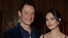 Lily James and married co-star Dominic West look cozy in new photos