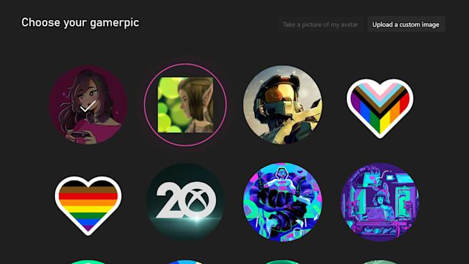 Microsoft's Xbox 360 gamerpic fix for new consoles rolls out to Insiders