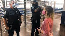 Congresswoman blocked from touring mail facility by Postal Service police