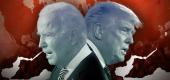 Joe Biden and President Trump. (Yahoo News illustration/Getty Images)