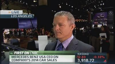 Mercedes USA CEO: Buyers are excited